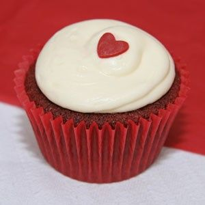 Red velvet cupcake