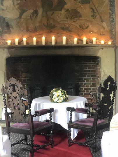 Priory Fireplace