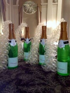 Champagne Balloons Cascades