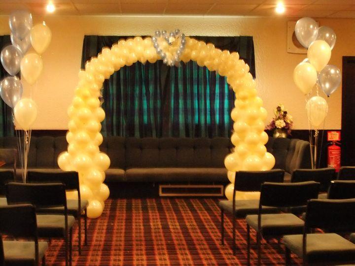 Heart Wedding Balloon Arch