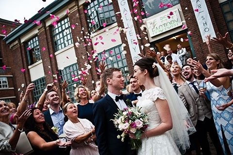 Weddings at The Biscuit Factory