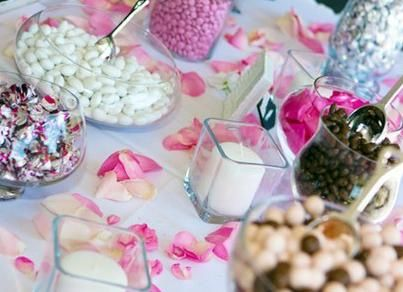 Candy table for weddings