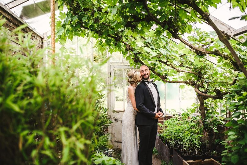 In a greenhouse - Kevin Fern Photography