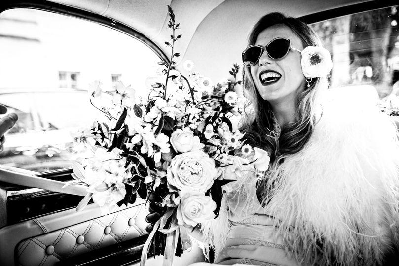 Smiling bride - Duo Exposures