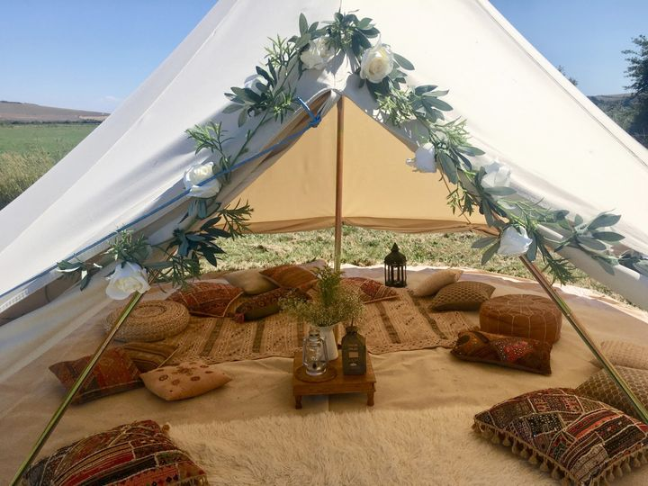 Bell tent for hire