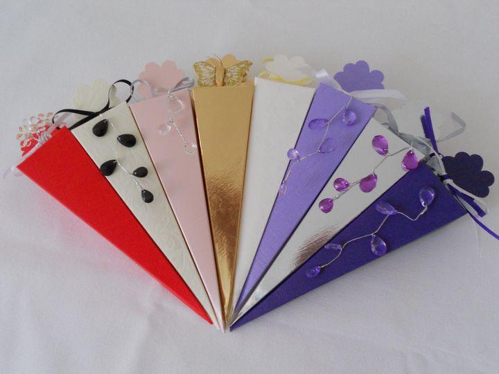 Cone Favour Boxes