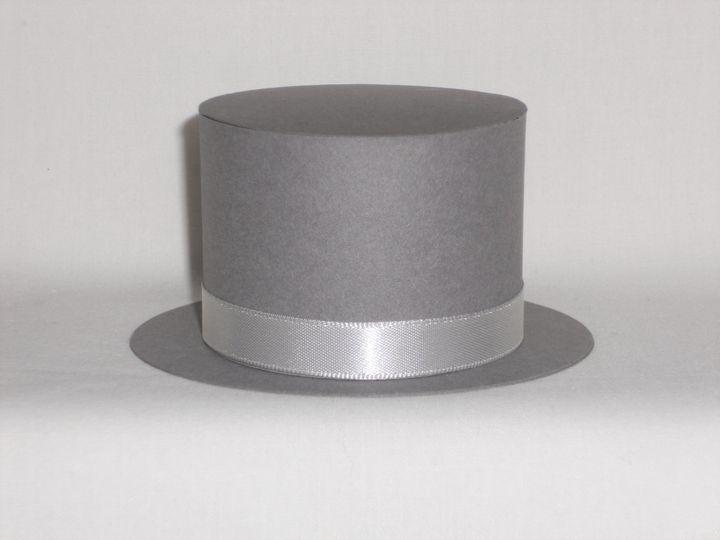 Top Hat Favour Box