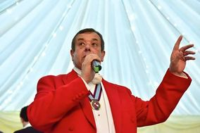 Toastmaster Paul Deacon