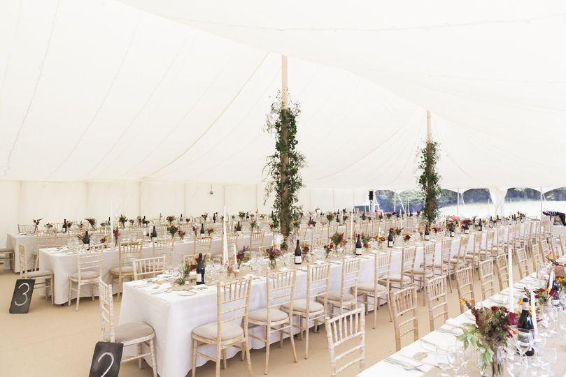Skye Marquees in Flintshire Wedding Marquee & Tipi Hire