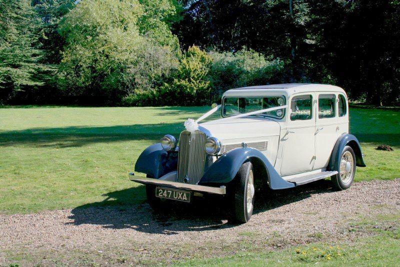 1930's Rover lovingly restored
