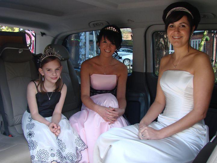 Inside Bridal Party transport