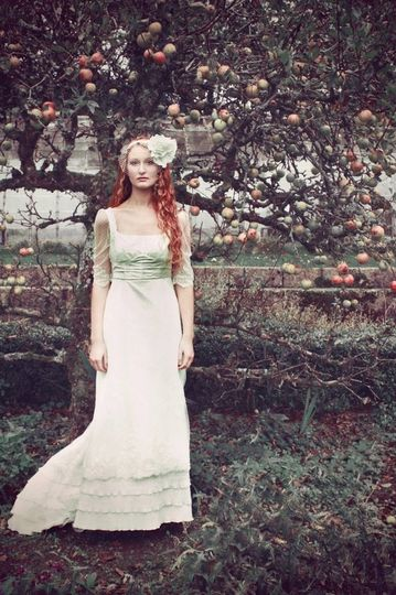 Autumnal Edwardian Bride