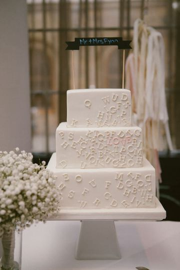 Trad cake with a touch