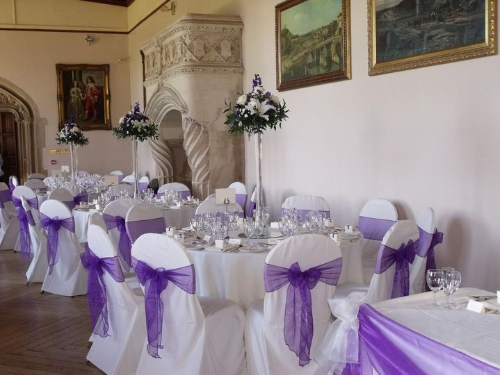 Chair cover and sash hire