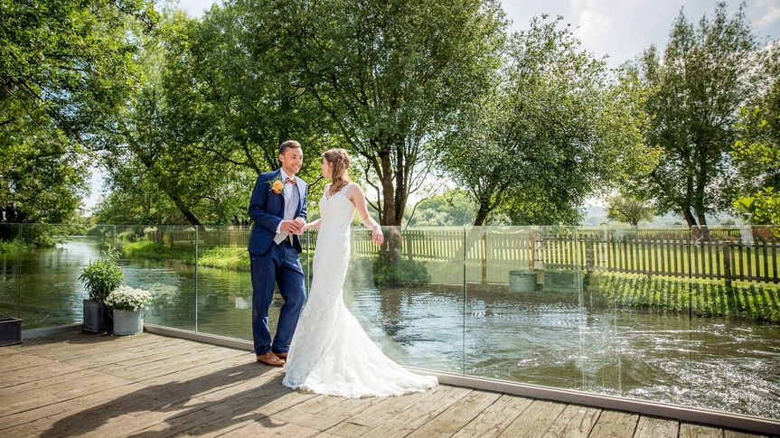 Couple on Decking Area