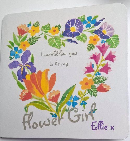 Be my flower girl