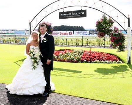 Newcastle race course wedding