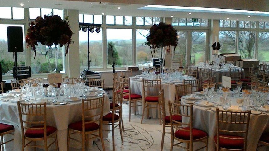 The Orangery reception room