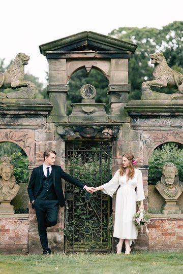 Dorfold Hall Lion Gate