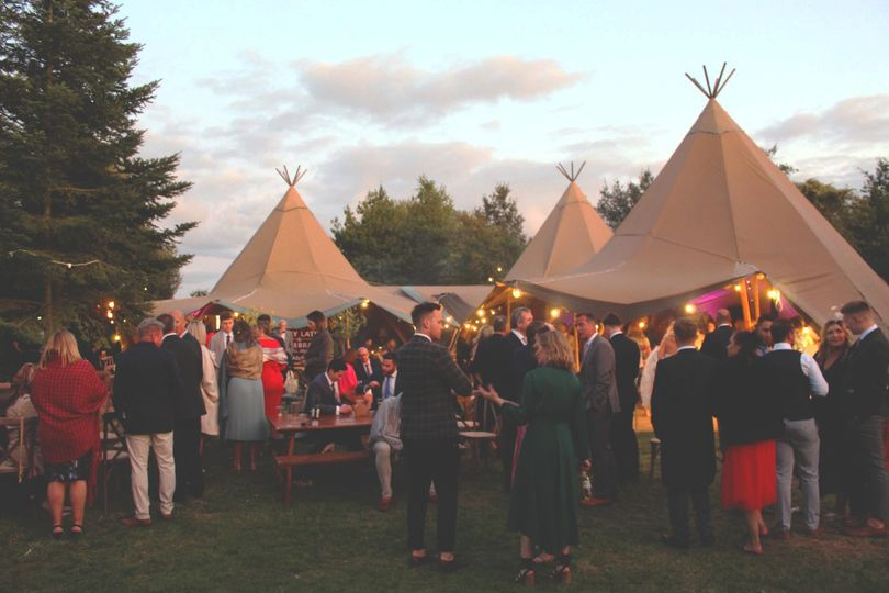 Tipi hire available