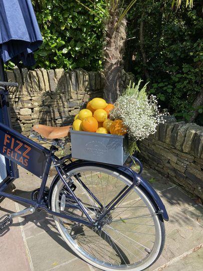 Our Fizz Fellas Bar Bike