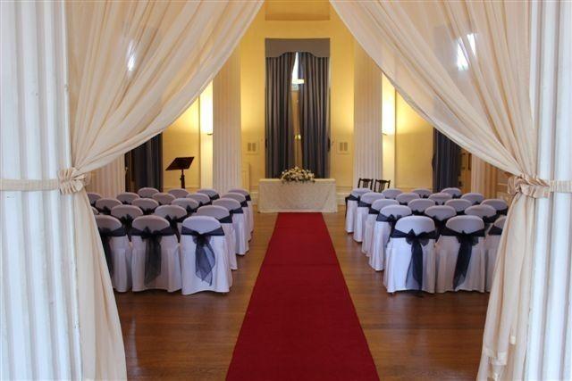 Apse Wedding Ceremony