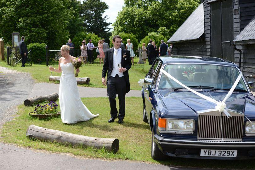 Katharine's Wedding Day.