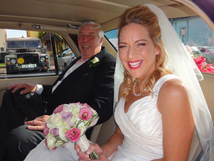 Rachel and her Dad.