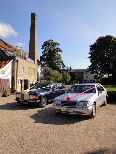 Our Cars at Tuddenham Mill