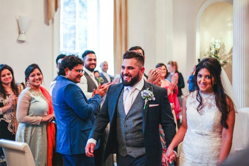 Leicestershire Indian wedding