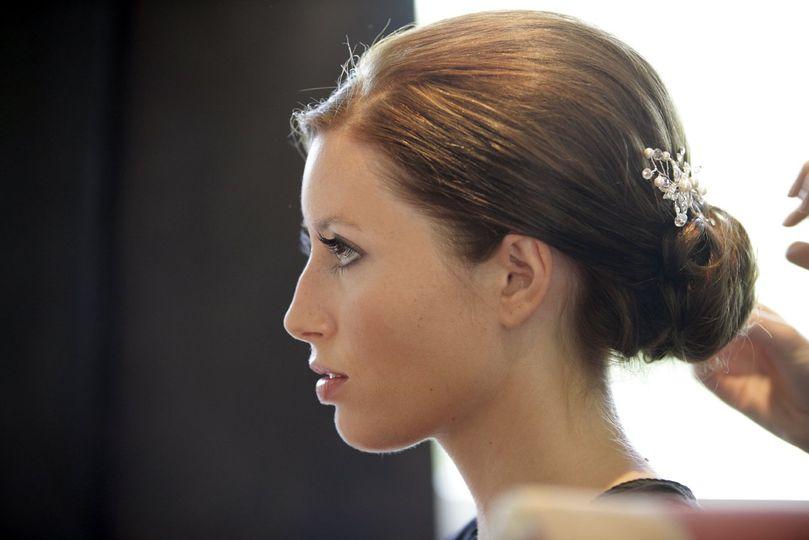 Beautiful bride in Surrey
