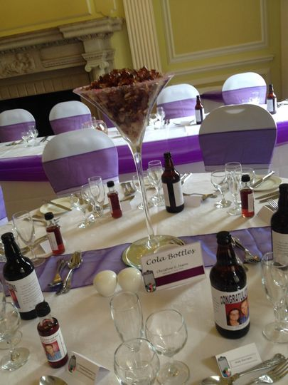 Sweet centrepieces