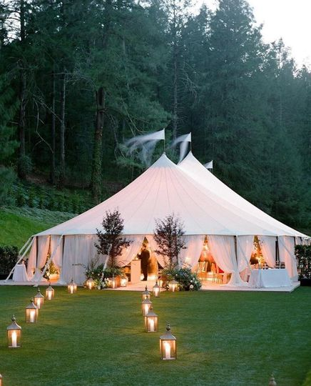 Elegant Backyard Weddings