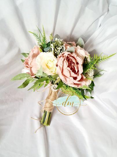 vintage rose with peonies 4 135058 161244807010225