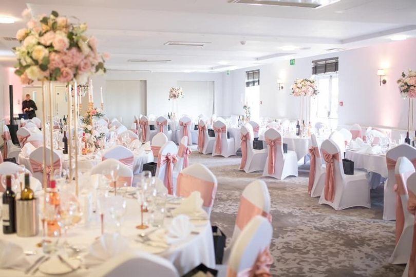 Chamberlain Suite Wedding Breakfast
