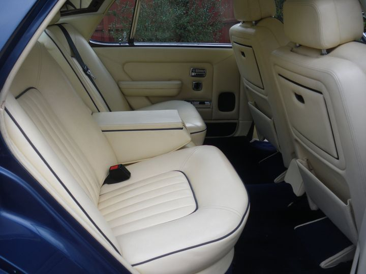 Interior of Rolls Royce