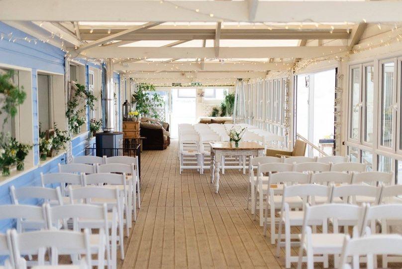 Lusty Glaze Beach Weddings