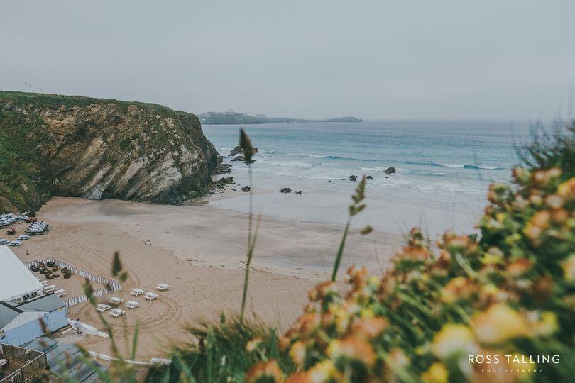 Lusty Glaze Private Beach Weddings 67