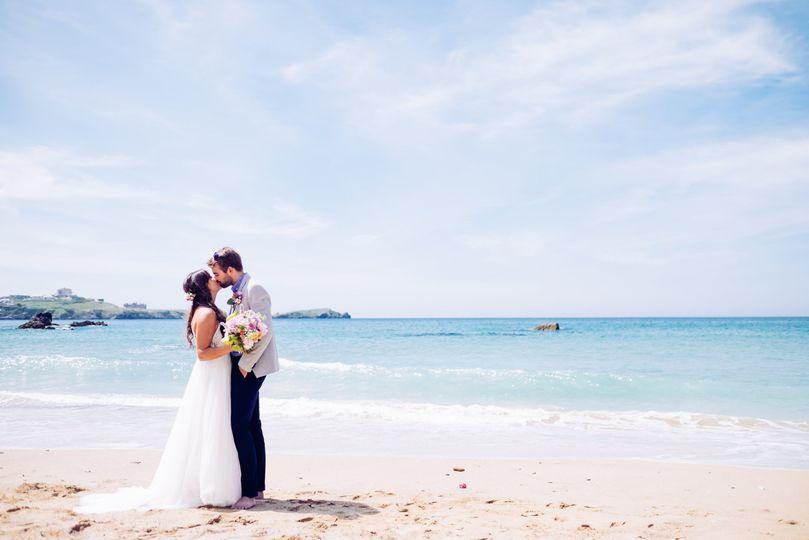 'I do' on the beach