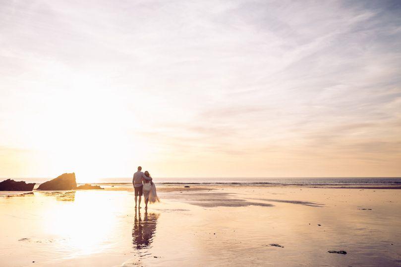 Lusty Glaze Private Beach Weddings 57