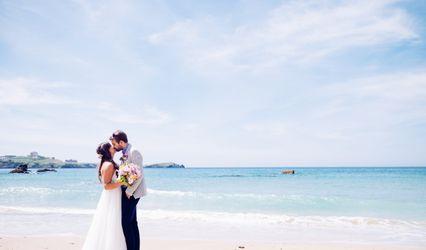 Lusty Glaze Private Beach Weddings 1