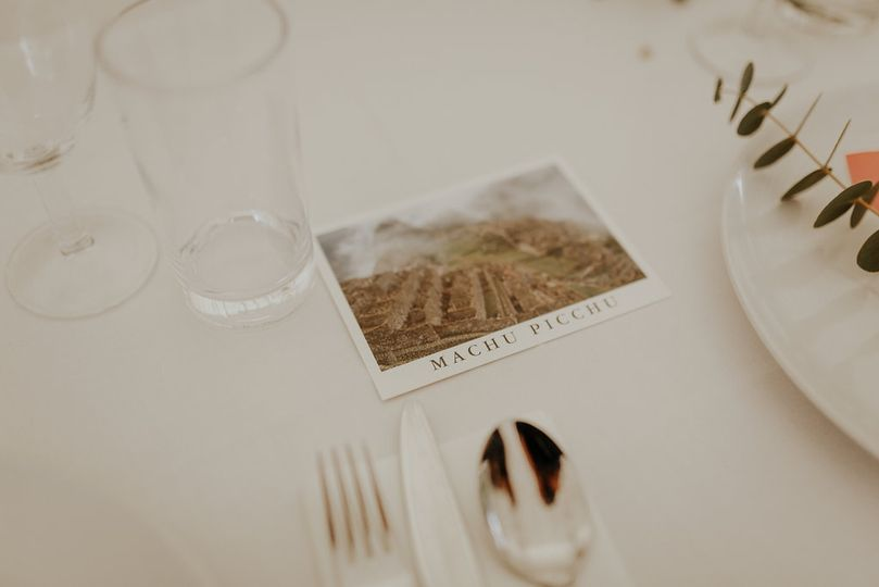 Table decor and place setting