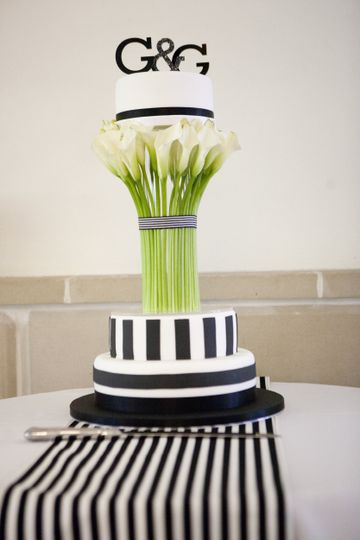 Calla lilly cake