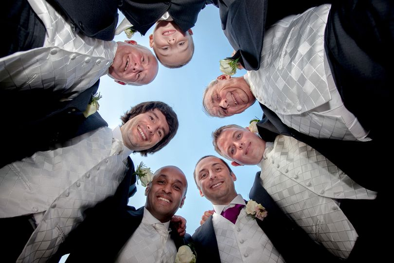 The Groom's party