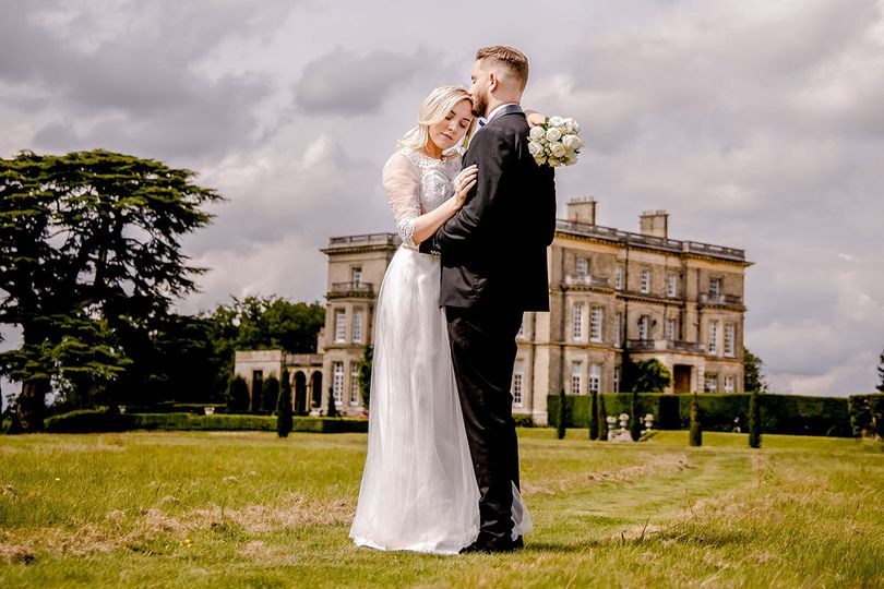 A country house wedding