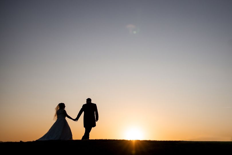 Sunset wedding - Sam and Simon Photography