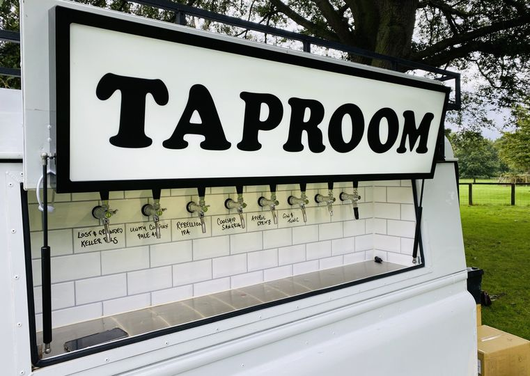 Drinks on tap for wedding