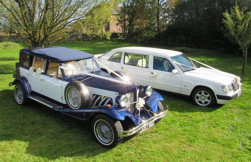 Luxury wedding transport