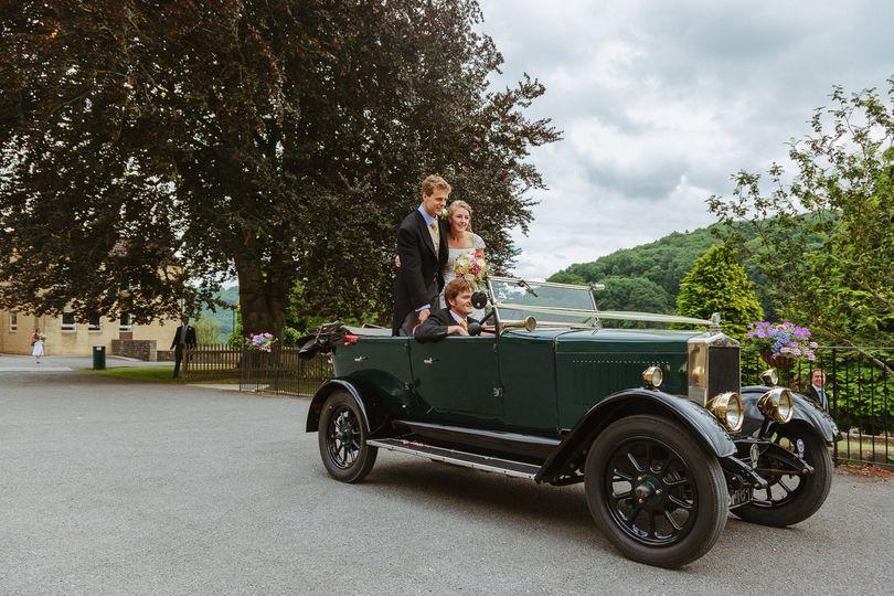 In a classic car - Mark J Boyce Photography