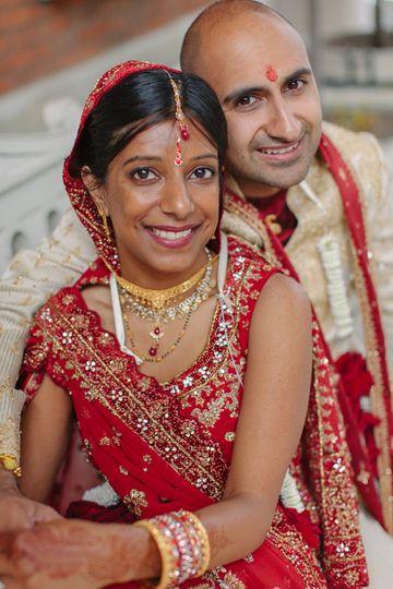 Portrait of the happy couple - Mark J Boyce Photography